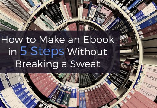 5 steps to make an ebook
