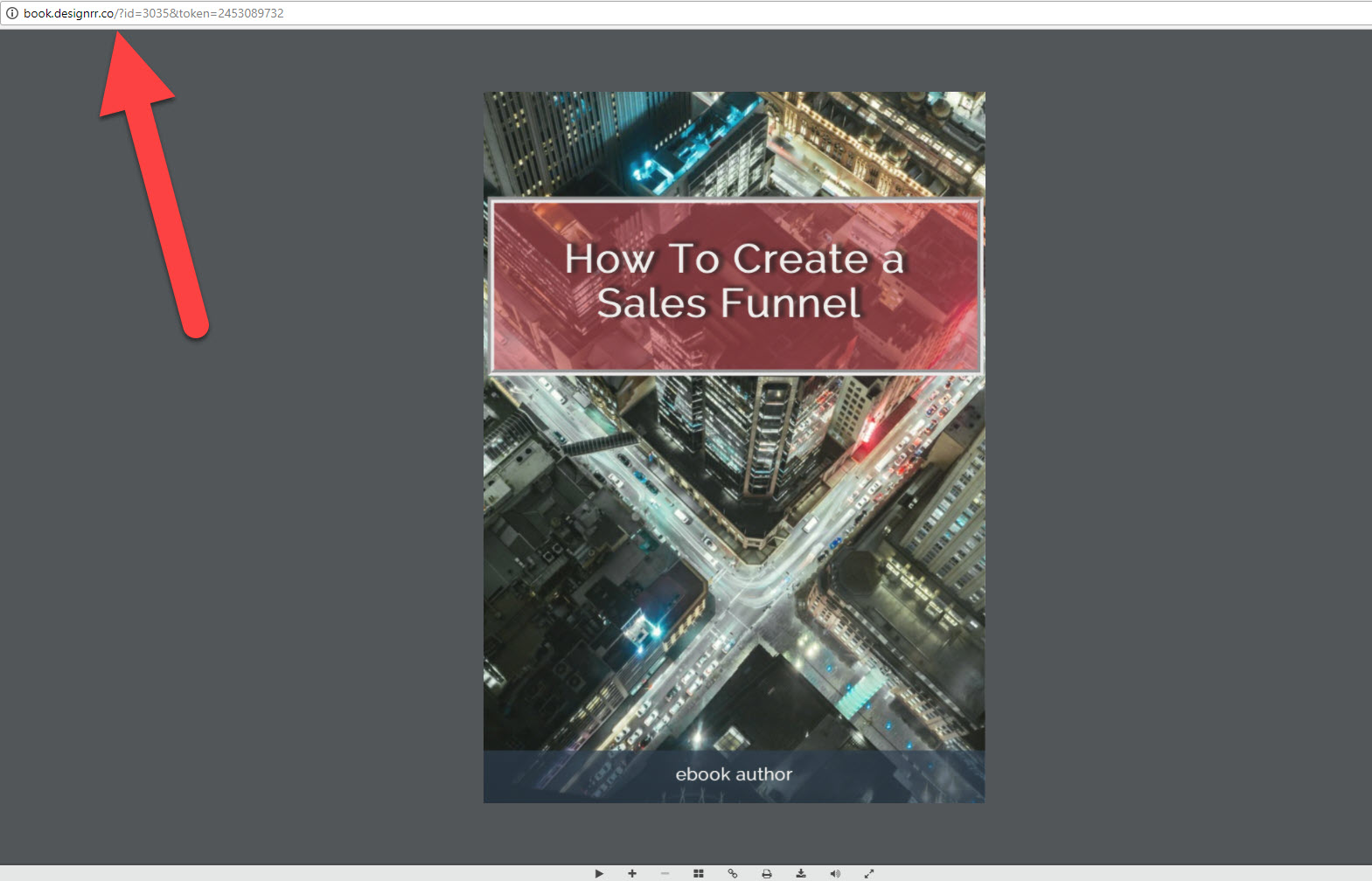 Flipbook Created - Copy URL
