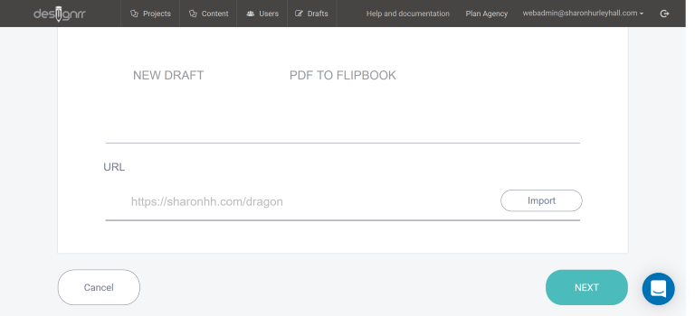 create pdf flipbook from URL with designrr