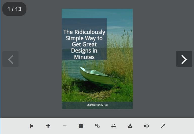 navigate your designrr pdf flipbook