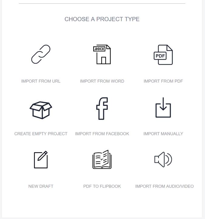 designrr choose project