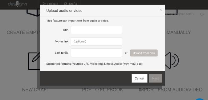 designrr import audio