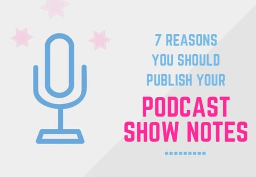 publish podcast show notes
