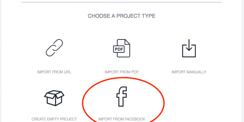 How To Create A Book From Facebook Posts Designrr Create