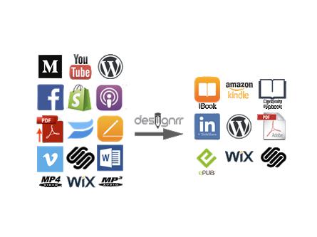 Designrr - Create eBooks, Kindle books, Leadmagnets