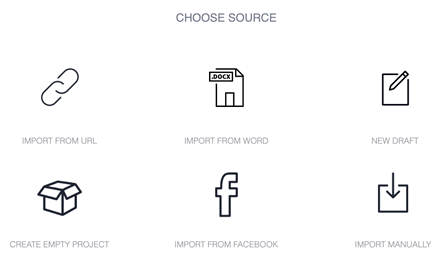 Choose Source