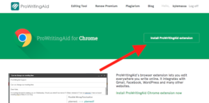 how to download the prowritingaid browser extension for chrome