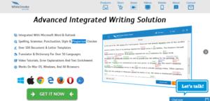 whitesmoke proofreading software dashboard