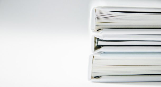 white folder