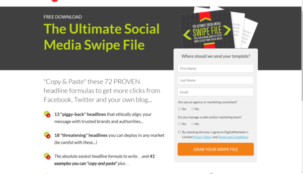 The Ultimate Social Media Swipe File