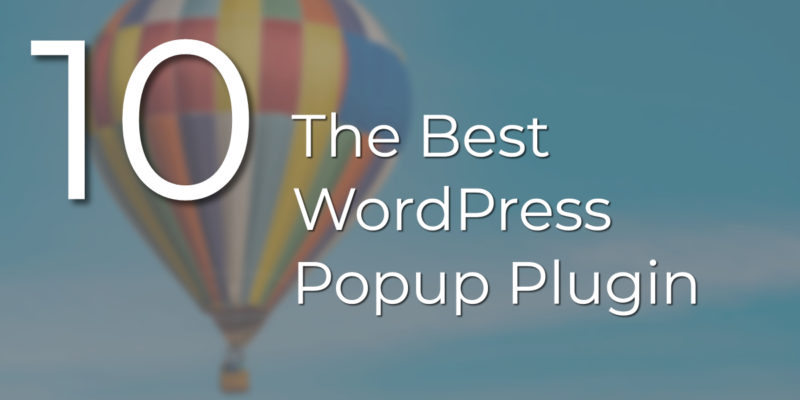 wordpress popup plugin